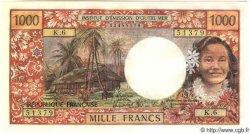 1000 Francs (avec République Française) TAHITI  1983 P.27 NEUF