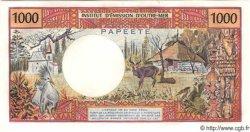 1000 Francs (avec République Française) TAHITI  1983 P.27 pr.NEUF