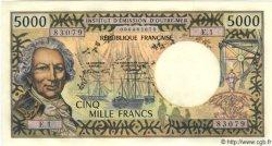 5000 Francs TAHITI  1971 P.28 NEUF