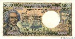 5000 Francs TAHITI  1985 P.28 NEUF