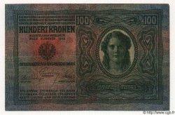 1 Koruna / 100 Korun TCHÉCOSLOVAQUIE  1919 P.004a TTB+