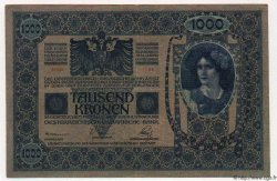 10 Kolek / 1000 Korun TCHÉCOSLOVAQUIE  1919 P.005 TTB+