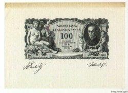 100 Korun TCHÉCOSLOVAQUIE  1931 P.023p SPL