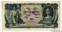 100 Korun TCHÉCOSLOVAQUIE  1931 P.023s NEUF