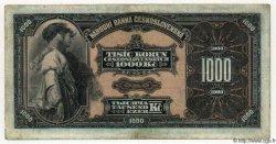1000 Korun TCHÉCOSLOVAQUIE  1932 P.025a TB+ à TTB
