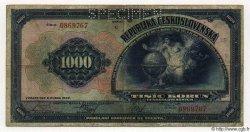 1000 Korun TCHÉCOSLOVAQUIE  1932 P.025s pr.TB