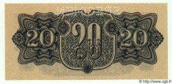 20 Korun TCHÉCOSLOVAQUIE  1944 P.047s NEUF