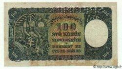 100 Korun TCHÉCOSLOVAQUIE  1945 P.051s TTB+