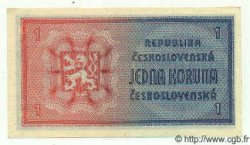 1 Koruna TCHÉCOSLOVAQUIE  1946 P.058a NEUF