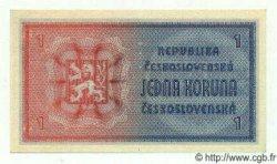 1 Koruna TCHÉCOSLOVAQUIE  1946 P.058s NEUF