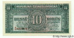 10 Korun TCHÉCOSLOVAQUIE  1945 P.060 NEUF