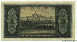 100 Korun TCHÉCOSLOVAQUIE  1945 P.063a TTB