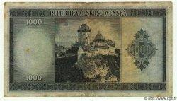 1000 Korun TCHÉCOSLOVAQUIE  1945 P.065a TB à TTB