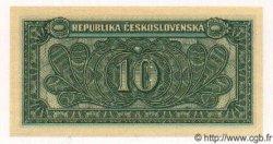 10 Korun TCHÉCOSLOVAQUIE  1950 P.069s NEUF