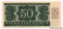 50 Korun TCHÉCOSLOVAQUIE  1950 P.071s NEUF