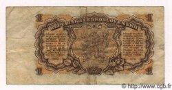 1 Koruna TCHÉCOSLOVAQUIE  1953 P.078a TB