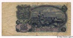 25 Korun TCHÉCOSLOVAQUIE  1953 P.084a pr.TB