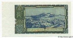 50 Korun TCHÉCOSLOVAQUIE  1953 P.085s NEUF