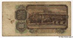 100 Korun TCHÉCOSLOVAQUIE  1953 P.086a B à TB