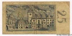 25 Korun TCHÉCOSLOVAQUIE  1958 P.087a TB