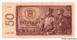 50 Korun TCHÉCOSLOVAQUIE  1964 P.090b pr.NEUF