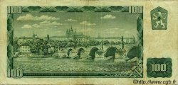 100 Korun TCHÉCOSLOVAQUIE  1961 P.091b TB