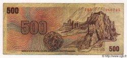 500 Korun TCHÉCOSLOVAQUIE  1973 P.093 TB