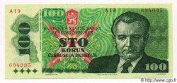 100 Korun TCHÉCOSLOVAQUIE  1989 P.097 pr.NEUF