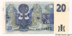 20 Korun RÉPUBLIQUE TCHÈQUE  1994 P.10a pr.NEUF