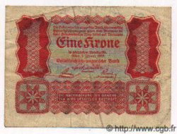 1 Krone TCHÉCOSLOVAQUIE  1920 P.- pr.TTB