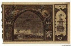 500 Korun TCHÉCOSLOVAQUIE  1921 P.- SUP
