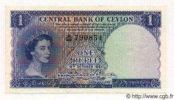 1 Rupee CEYLAN  1954 P.49 SPL