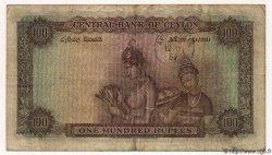 100 Rupees CEYLAN  1952 P.53 TTB