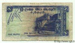 1 Rupee CEYLAN  1958 P.56b TTB