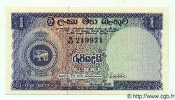 1 Rupee CEYLAN  1960 P.56d NEUF
