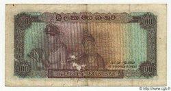 100 Rupees CEYLAN  1968 P.71 TTB