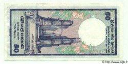 50 Rupees SRI LANKA  1989 P.079 SUP