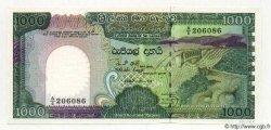 1000 Rupees SRI LANKA  1987 P.082 pr.NEUF