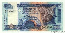 50 Rupees SRI LANKA  1992 P.104 TTB