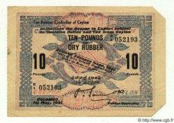 10 Pounds CEYLAN  1941 P.- SUP