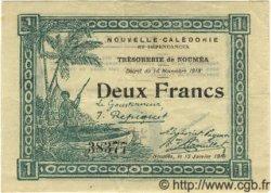 2 Francs NOUVELLE CALÉDONIE  1919 P.35a pr.SUP