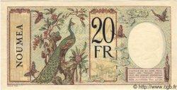 20 Francs NOUVELLE CALÉDONIE  1940 P.37b SPL