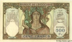 100 Francs NOUVELLE CALÉDONIE  1953 P.42c SPL