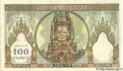 100 Francs NOUVELLE CALÉDONIE  1957 P.42d SUP