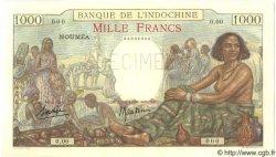 1000 Francs NOUVELLE CALÉDONIE  1938 P.43as pr.NEUF