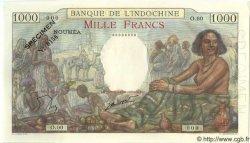 1000 Francs NOUVELLE CALÉDONIE  1963 P.43ds NEUF