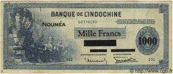 1000 Francs NOUVELLE CALÉDONIE  1943 P.45 TTB