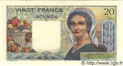 20 Francs NOUVELLE CALÉDONIE  1958 P.50b NEUF