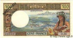 100 Francs NOUVELLE CALÉDONIE  1969 P.59s pr.NEUF