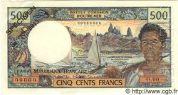500 Francs NOUVELLE CALÉDONIE  1970 P.60s SPL